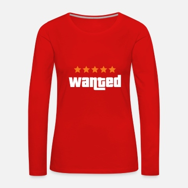 Ctf Wanted - Women's Premium Longsleeve Shirt
