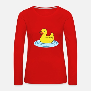 Rubber Duck rubber duck - Women's Premium Longsleeve Shirt