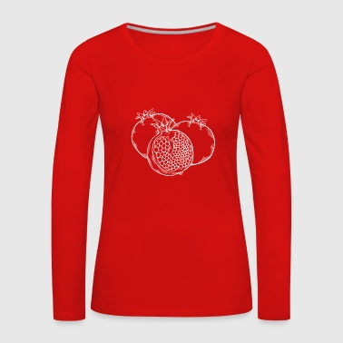 Fruit Pomegranate Fruit Fruit Fruit - Women's Premium Longsleeve Shirt