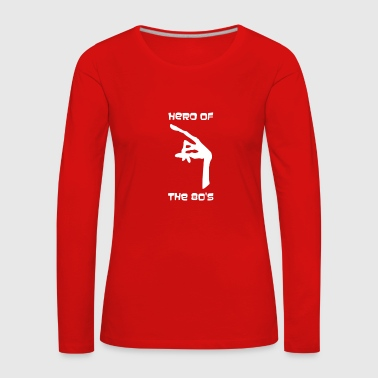 ET Hero of the 80's - Women's Premium Longsleeve Shirt