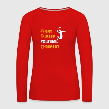 Volleyball - present for men and women - Frauen Premium Langarmshirt
