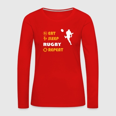 Rugby - gift for men and women - Frauen Premium Langarmshirt