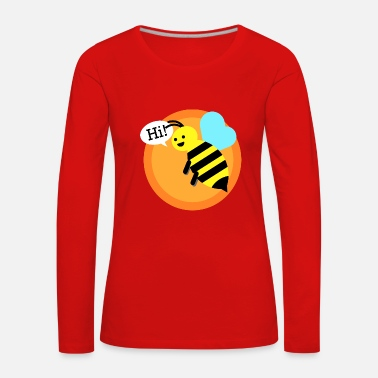 Bumble Bee Cool bumble bee - Women's Premium Longsleeve Shirt