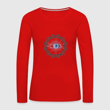 The opened third eye - gift idea - Women's Premium Longsleeve Shirt