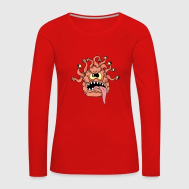 Monster - Frauen Premium Langarmshirt