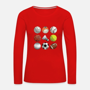 Ball Sport ball Sports - Women's Premium Longsleeve Shirt