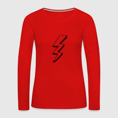Flash, Flash, voltage - Women's Premium Longsleeve Shirt