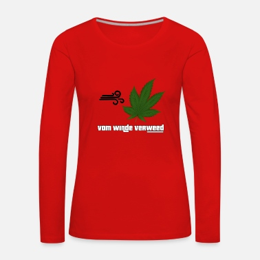 Wind WINDED BY THE WIND - Women's Premium Longsleeve Shirt