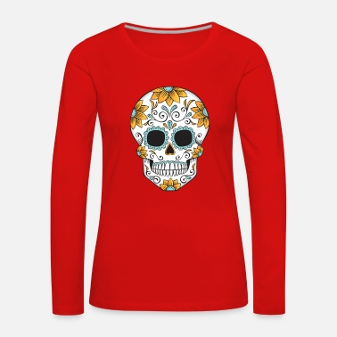 Day Of The Dead SUGAR SKULL 03 - Women's Premium Longsleeve Shirt