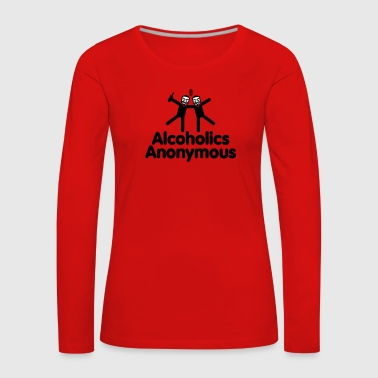 Alcoholics Anonymous AA - T-shirt manches longues Premium Femme