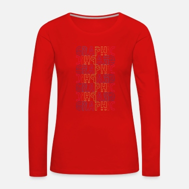 Graphics Graphic - Women's Premium Longsleeve Shirt