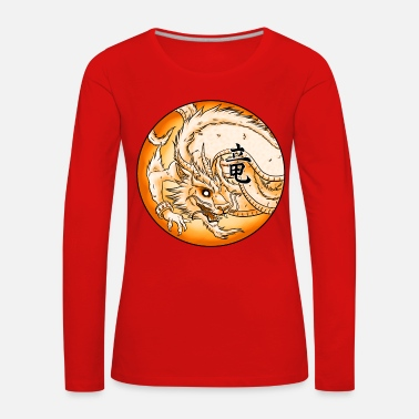 Dragon Chinese Dragon - Women's Premium Longsleeve Shirt