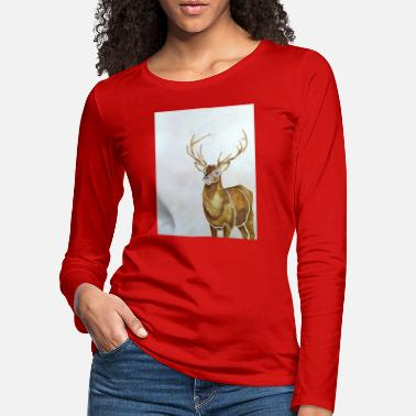 Stag stag - Women's Premium Longsleeve Shirt