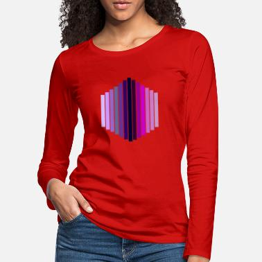 Hexagon hexagon - Women's Premium Longsleeve Shirt
