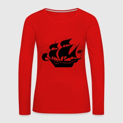 sailboat - Women's Premium Longsleeve Shirt