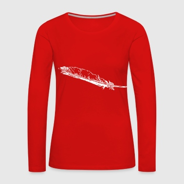 Fine feather - Women's Premium Longsleeve Shirt