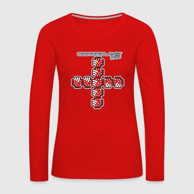 SWITZERLAND TREND - Women's Premium Longsleeve Shirt