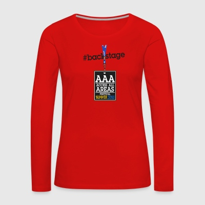 Backstage ticket - Women's Premium Longsleeve Shirt