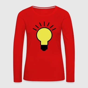 2541614 16001767 light bulb - Women's Premium Longsleeve Shirt