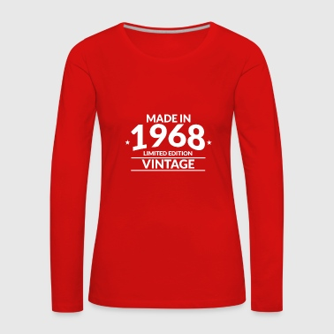 Made in 1968 - Limited Edition - Vintage - Women's Premium Longsleeve Shirt