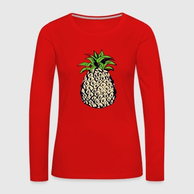 Pineapple - Women's Premium Longsleeve Shirt