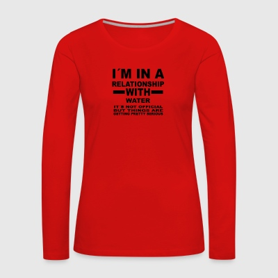 Relationship with WATER SPORTS - Women's Premium Longsleeve Shirt