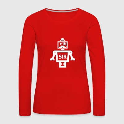 SIR Smart Item Robotics - Dame premium T-shirt med lange ærmer