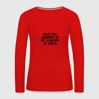 Phrases - Women's Premium Longsleeve Shirt