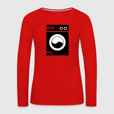 Washing machine - Women's Premium Longsleeve Shirt
