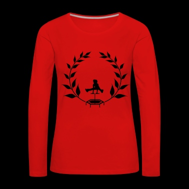 Wreath Jumping - Jumpingfitness - Women's Premium Longsleeve Shirt