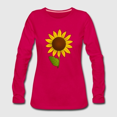 Sunflower 1 color - Women's Premium Longsleeve Shirt