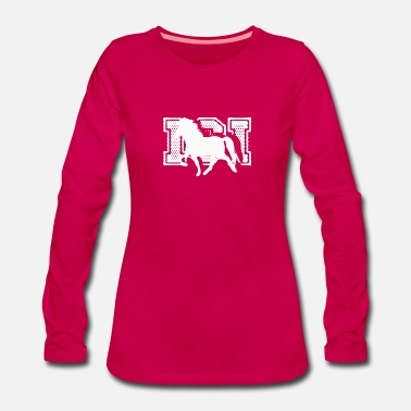 Happy Birthday Icelandic Horse: Icelandic Horse Horse Pony Merch - Women's Premium Longsleeve Shirt
