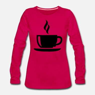 Wake Up With A Of Coffee Coffee - Women's Premium Longsleeve Shirt