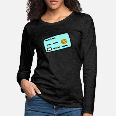 Credit card - Women's Premium Longsleeve Shirt