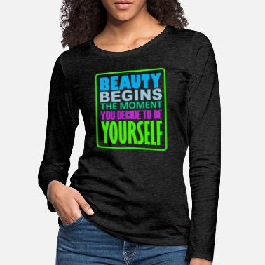 quotes - Women's Premium Longsleeve Shirt