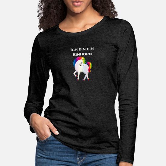 f17e87c1 Jeg er en enhjørning Premium langermet T-skjorte for kvinner ...