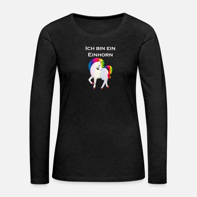 1f974dd9 Jeg er en enhjørning Premium langermet T-skjorte for kvinner | Spreadshirt