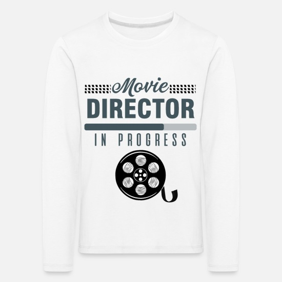 Play Long Sleeve Shirts - Director - Movie Director In Progress - Kids' Premium Longsleeve Shirt white