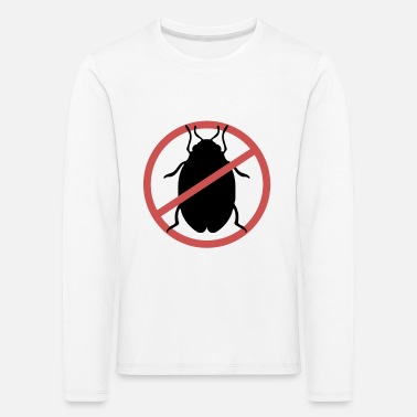 Travel Bug No Bed Bugs | Bed bugs banned bed bug travel - Kids' Premium Longsleeve Shirt