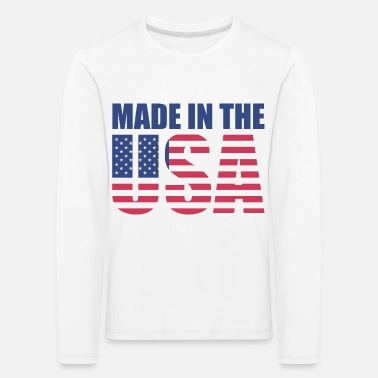 Made In Usa Made in USA - Kids' Premium Longsleeve Shirt