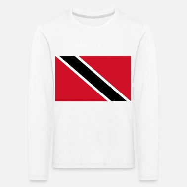 Flag of Trinidad and Tobago. - Kids' Premium Longsleeve Shirt