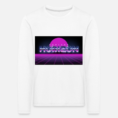 Endless Neon Chrome Horizon - Kids' Premium Longsleeve Shirt