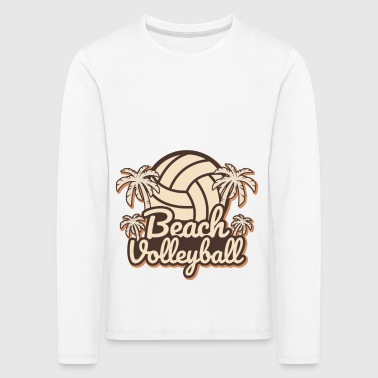 Beach Volley Beach-volley - T-shirt manches longues Premium Enfant