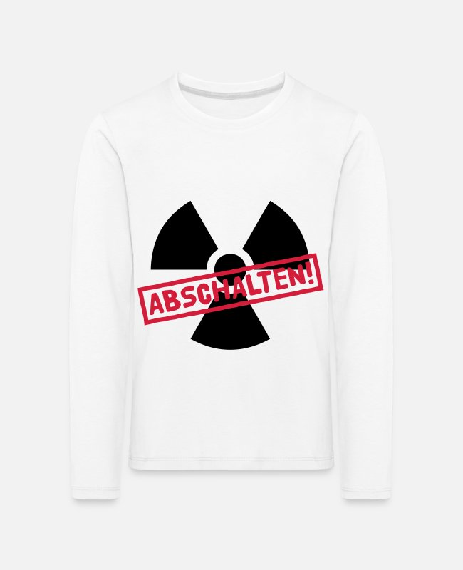 Nuclear Fukushima Long-Sleeved Shirts - Nuclear power shutdown - Kids' Premium Longsleeve Shirt white