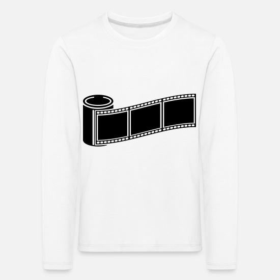 Image Long Sleeve Shirts - photo_retro_1_f1 - Kids' Premium Longsleeve Shirt white