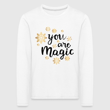 ERES MAGIC - Camiseta de manga larga premium niño