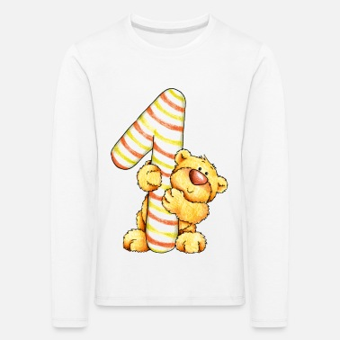 Fur Sweet little bear and the 1 - Kids' Premium Longsleeve Shirt