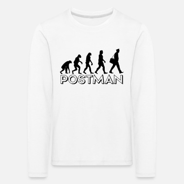 Composite Delivery Postman Delivery Postman Evolution Gift - Kids' Premium Longsleeve Shirt