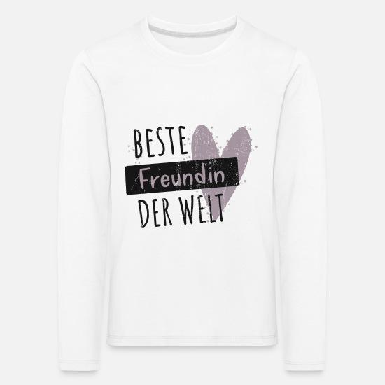 """T-Shirt Funshirt Shirt /""""Beste Freundin der Welt/"""" Geschenk Mutter Liebe Familie"""