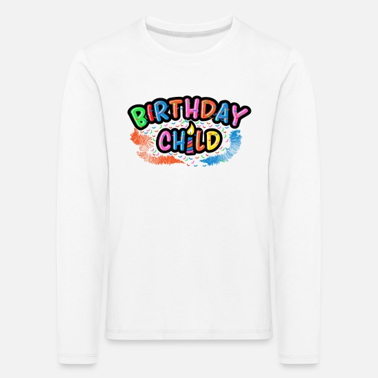 Birthday Long sleeve shirts - Birthday Kid Birthday Party Birthday Party - Kids' Premium Longsleeve Shirt white